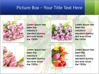 Tulip Bouquet PowerPoint Templates - Slide 14