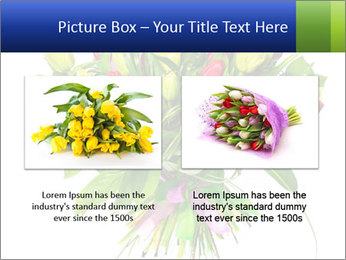 Tulip Bouquet PowerPoint Templates - Slide 18