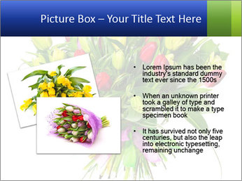 Tulip Bouquet PowerPoint Templates - Slide 20