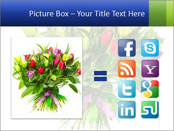 Tulip Bouquet PowerPoint Templates - Slide 21