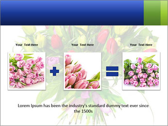 Tulip Bouquet PowerPoint Templates - Slide 22