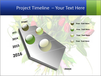 Tulip Bouquet PowerPoint Templates - Slide 26