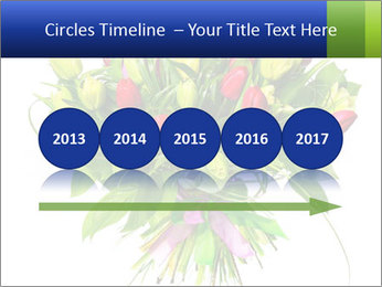 Tulip Bouquet PowerPoint Templates - Slide 29