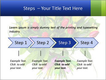 Tulip Bouquet PowerPoint Templates - Slide 4