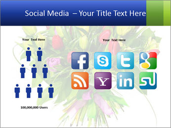Tulip Bouquet PowerPoint Templates - Slide 5