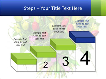 Tulip Bouquet PowerPoint Templates - Slide 64