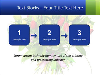 Tulip Bouquet PowerPoint Templates - Slide 71