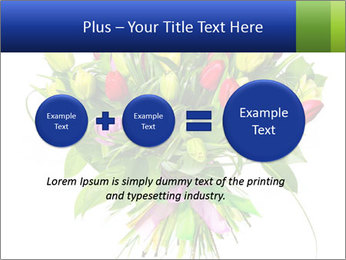 Tulip Bouquet PowerPoint Templates - Slide 75