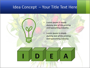 Tulip Bouquet PowerPoint Templates - Slide 80