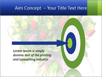 Tulip Bouquet PowerPoint Templates - Slide 83