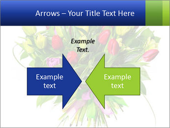 Tulip Bouquet PowerPoint Templates - Slide 90