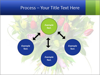 Tulip Bouquet PowerPoint Templates - Slide 91