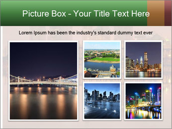 Red Sunset Scene PowerPoint Template - Slide 19