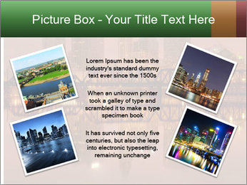 Red Sunset Scene PowerPoint Templates - Slide 24