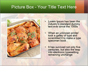Chicken In Oven PowerPoint Template - Slide 13