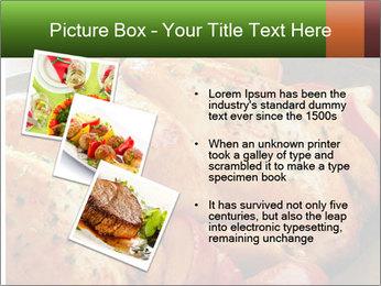 Chicken In Oven PowerPoint Template - Slide 17