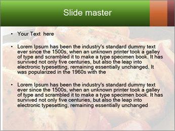 Chicken In Oven PowerPoint Template - Slide 2