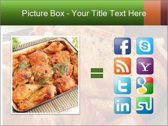 Chicken In Oven PowerPoint Template - Slide 21