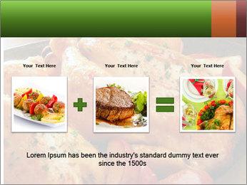 Chicken In Oven PowerPoint Template - Slide 22