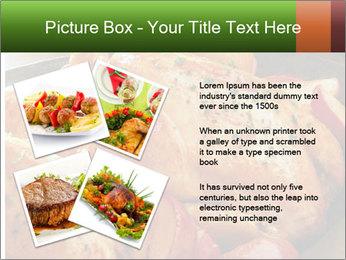 Chicken In Oven PowerPoint Template - Slide 23