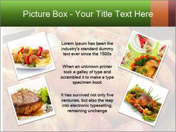 Chicken In Oven PowerPoint Template - Slide 24