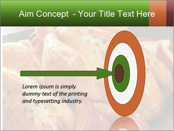 Chicken In Oven PowerPoint Template - Slide 83