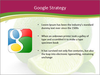 Green Juicyy Lime PowerPoint Template - Slide 10