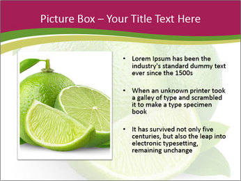Green Juicyy Lime PowerPoint Template - Slide 13