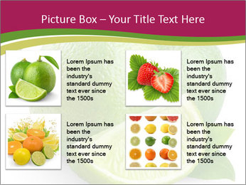 Green Juicyy Lime PowerPoint Templates - Slide 14