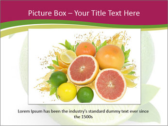 Green Juicyy Lime PowerPoint Template - Slide 16