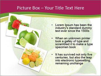 Green Juicyy Lime PowerPoint Template - Slide 17
