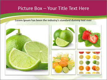 Green Juicyy Lime PowerPoint Template - Slide 19