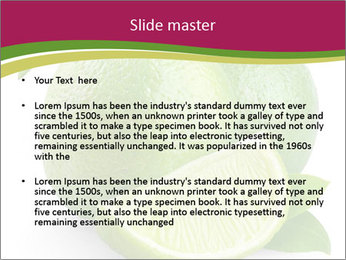 Green Juicyy Lime PowerPoint Templates - Slide 2