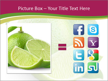 Green Juicyy Lime PowerPoint Template - Slide 21