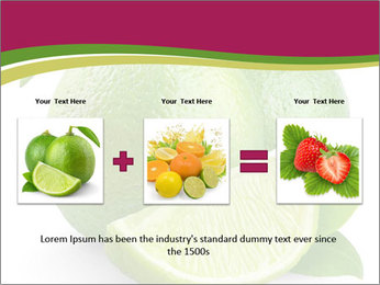 Green Juicyy Lime PowerPoint Templates - Slide 22