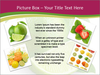 Green Juicyy Lime PowerPoint Template - Slide 24