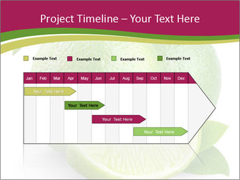 Green Juicyy Lime PowerPoint Template - Slide 25