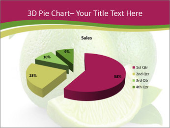 Green Juicyy Lime PowerPoint Templates - Slide 35
