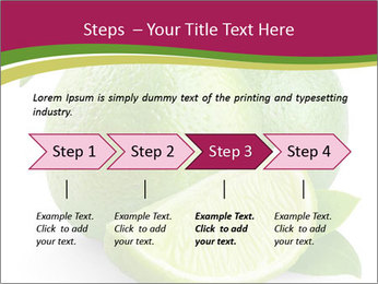 Green Juicyy Lime PowerPoint Template - Slide 4