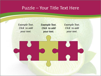 Green Juicyy Lime PowerPoint Templates - Slide 42