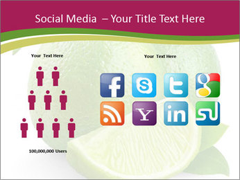 Green Juicyy Lime PowerPoint Template - Slide 5