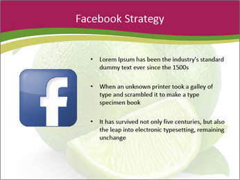 Green Juicyy Lime PowerPoint Template - Slide 6