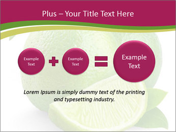 Green Juicyy Lime PowerPoint Templates - Slide 75