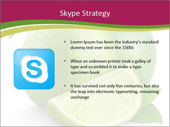 Green Juicyy Lime PowerPoint Templates - Slide 8