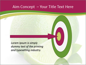Green Juicyy Lime PowerPoint Templates - Slide 83