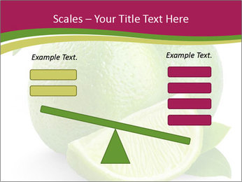 Green Juicyy Lime PowerPoint Template - Slide 89