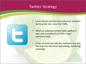Green Juicyy Lime PowerPoint Template - Slide 9