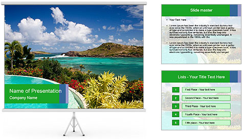 Paradise - PowerPoint Template