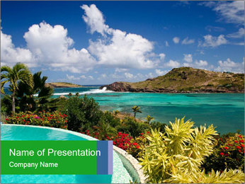 Paradise - PowerPoint Template - Slide 1