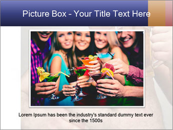 Man with glass of beer PowerPoint Template - Slide 16